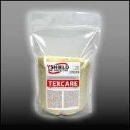 Detergent for RF shielding textiles